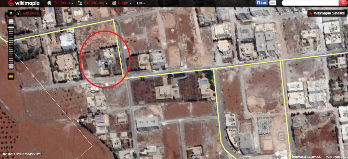 مقر مجلس شورى المجاهدين وهو المكان الذي عقد فيه البغدادي اجتماعاته