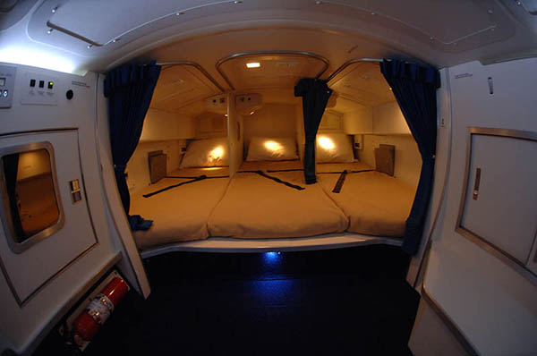 Image result for غرف نوم في الطائرات