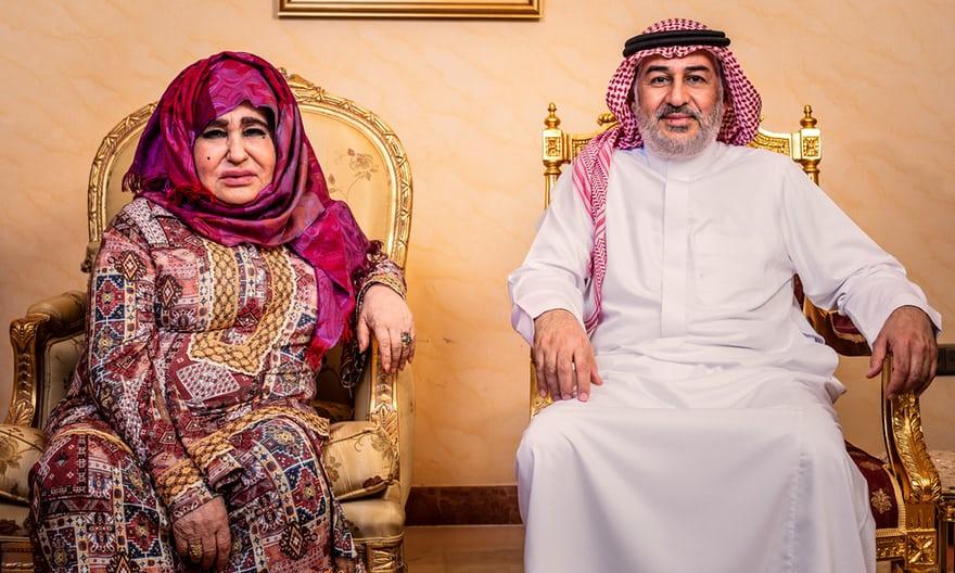 والدة بن لادن تتحدث للمرة الأولى والأسرة تشعر بالخجل العميق